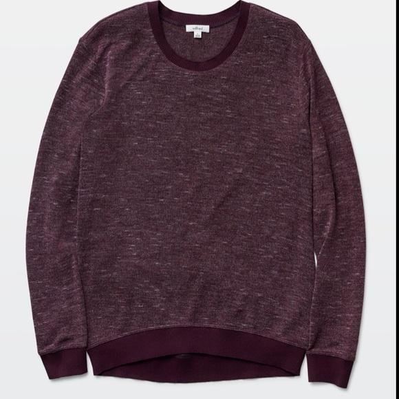 ARITZIA Berri Burgundy Sweater